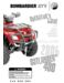Can-Am Outlander 400 HO Operator`s Guide
