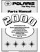 Polaris Worker 500 Parts Manual