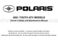 Polaris Sportsman 90 Owner`s Manual
