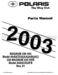 Polaris Magnum 330 4x4 Parts Manual