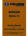 Polaris Ranger 2x4 Owner`s Manual