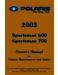 Polaris Sportsman 600 Owner`s Manual