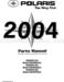 Polaris Ranger 2x4 Parts Manual