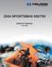 Polaris Sportsman 600 Service Manual