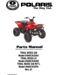 Polaris Trail Boss 330 Parts Manual