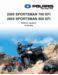 Polaris Sportsman 700 EFI Service Manual
