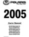 Polaris Sportsman 800 EFI Parts Manual
