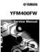 Yamaha Kodiak 400 Service Manual
