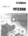 Yamaha Banshee 350 Supplementary Service Manual