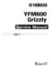 Yamaha Grizzly 600 Service Manual