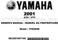 Yamaha Blaster 200 Owner`s Manual