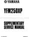Yamaha Bear Tracker 250 Service Manual