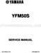 Yamaha Raptor 50 Service Manual