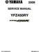 Yamaha YFZ 450R Service Manual