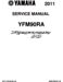Yamaha Raptor 90 Service Manual